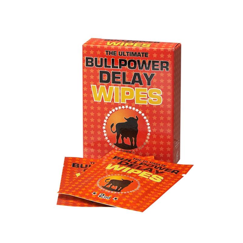 Cobeco Pharma Bull Power Wipes Ritardante Uomo 6x2 ml