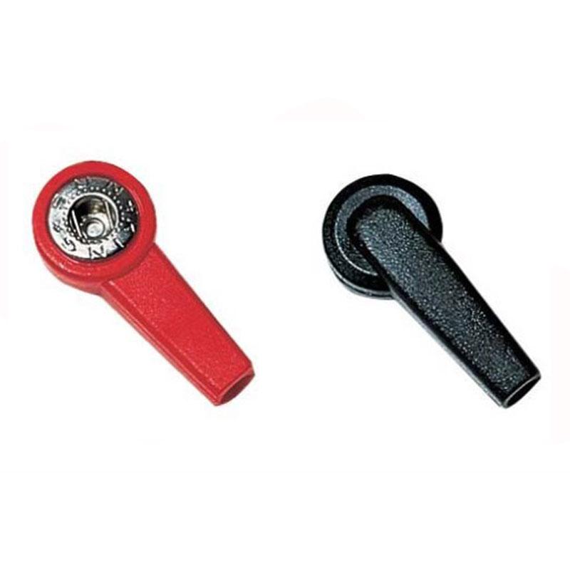 Adattatore per Elettrodi Attacco a Clip Femmina con Foro 4 mm
