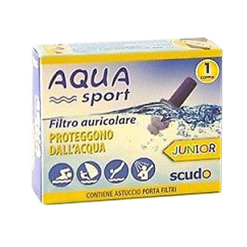 AQUA sport- filtro auricolare JUNIOR