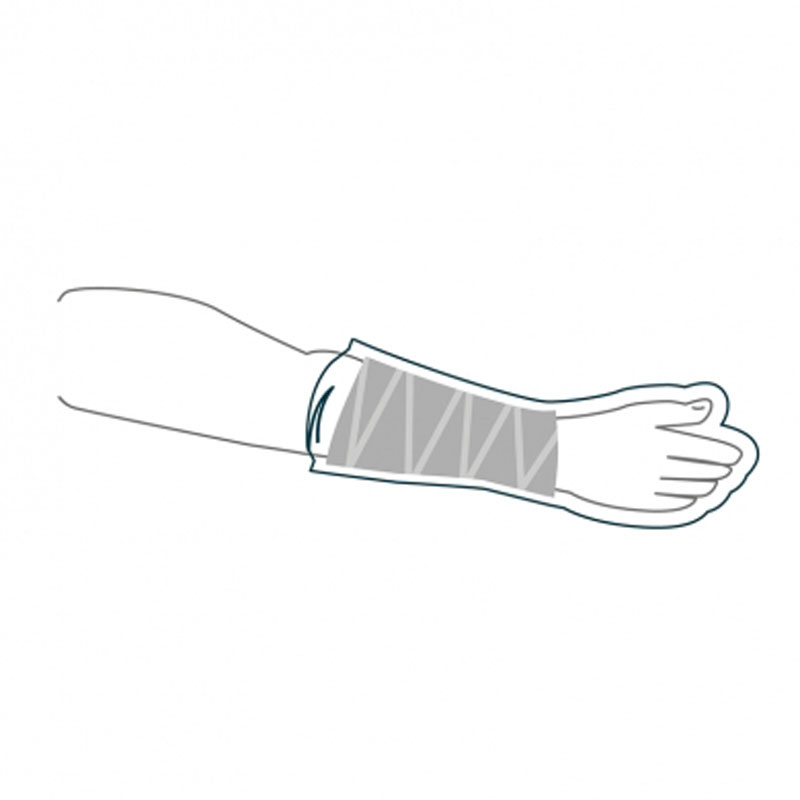 AquaProtect metà braccio Large