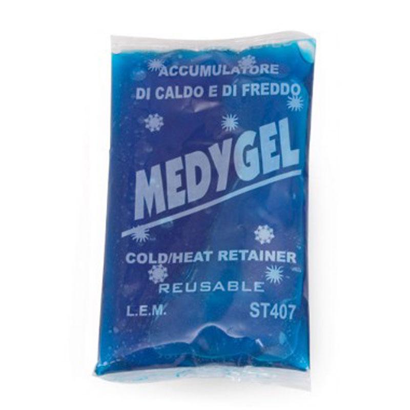 "Busta di Gel Caldo/Freddo Riutilizzabile ""MEDYGEL"" - 13,5X24 cm"