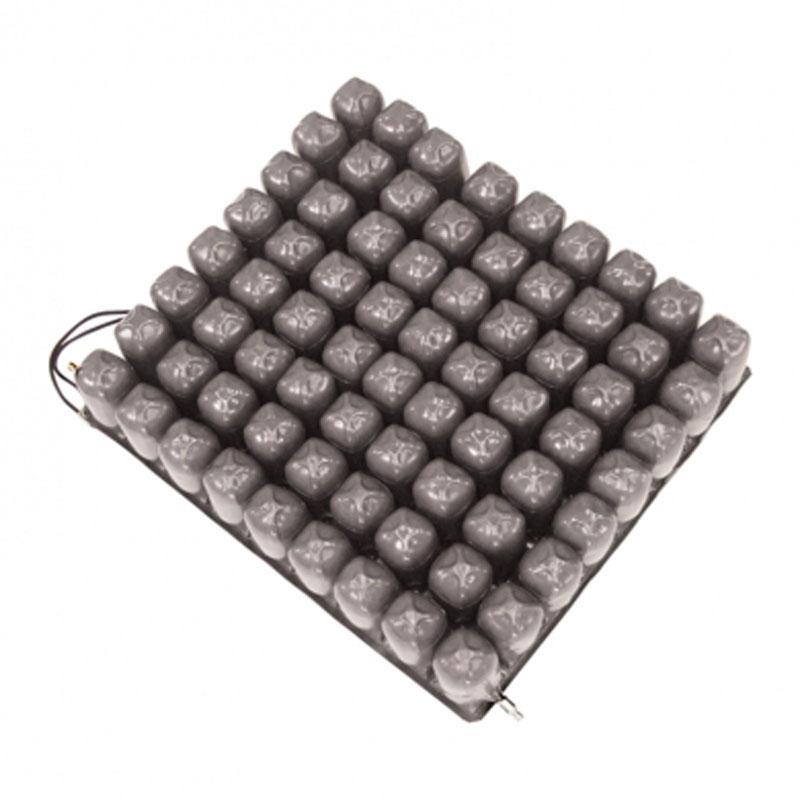Cuscino a bolle d'aria in gomma e PVC a 2 valvole alto 10 cm