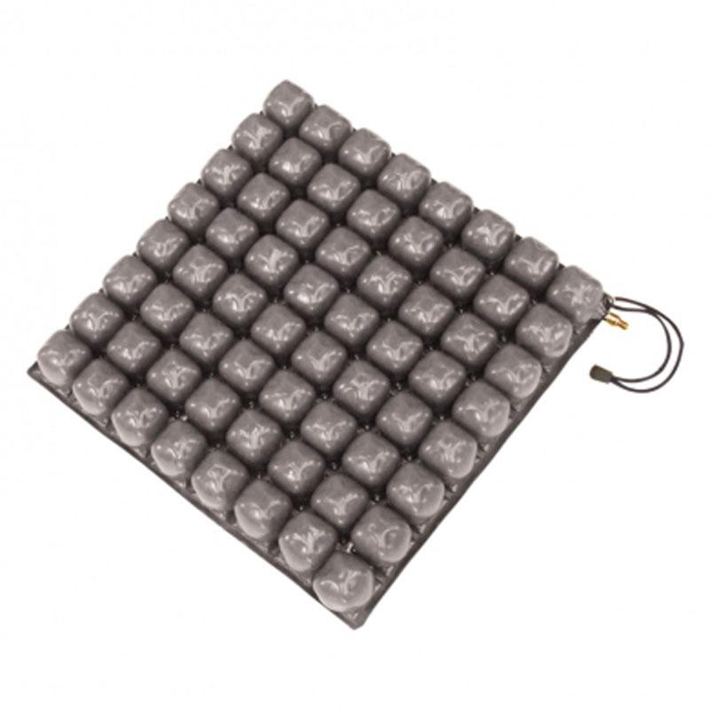 Cuscino a bolle d'aria in gomma e PVC a 1 valvola alto 10 cm