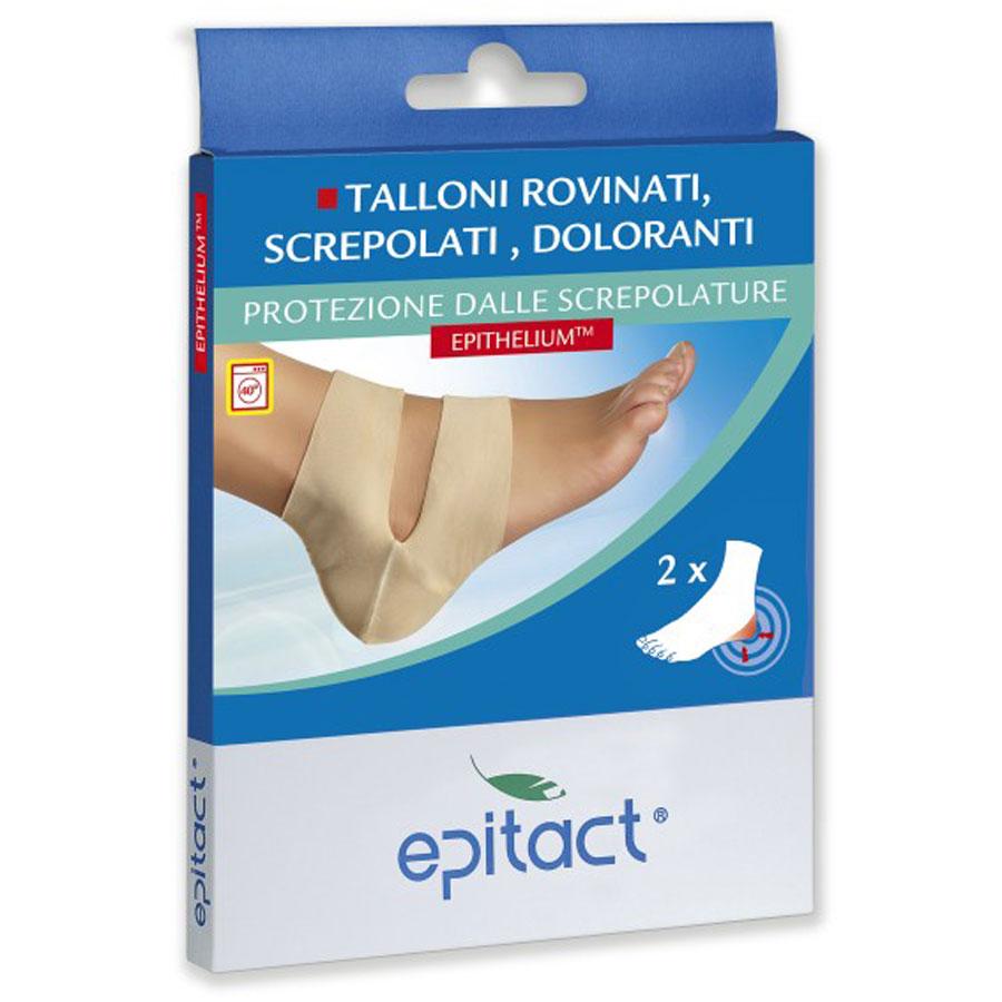 EPITACT Talloni Rovinati, Screpolati, Doloranti, protezione dalle screpolature Taglia Unica (2 pezzi in confezione)