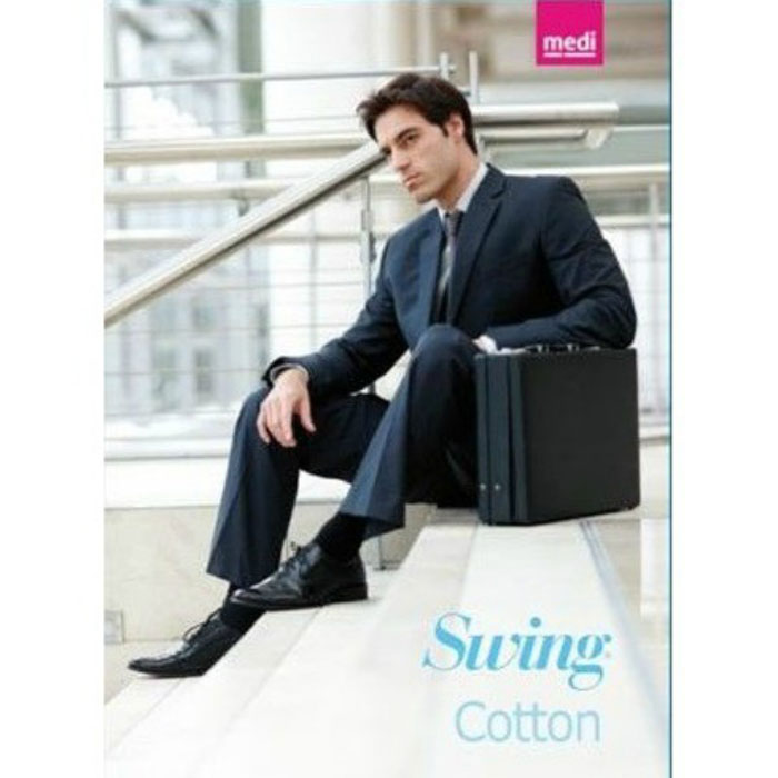 Gambaletto Uomo Medi Swing Cotton 15mm hg