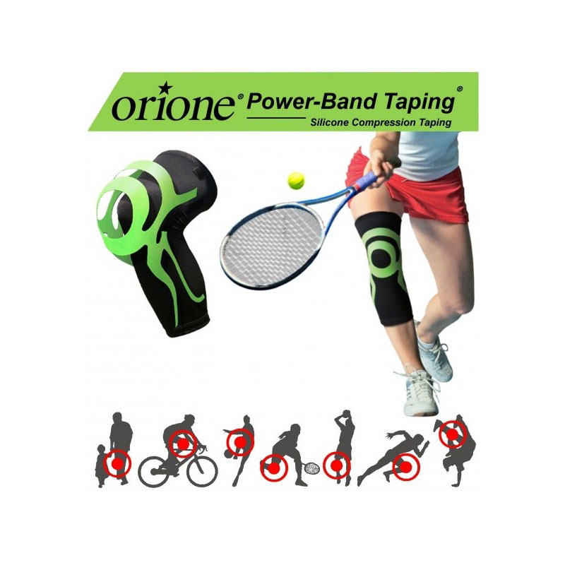 Ginocchiera Con Power Band Taping Integrato