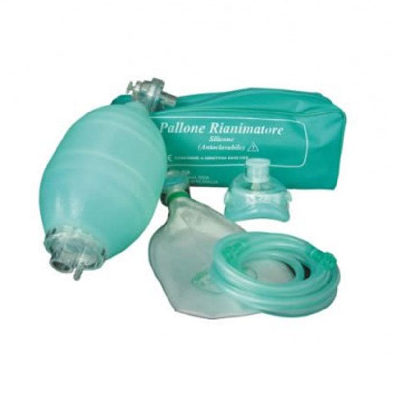 Kit Pallone Neonatale in silicone con maschera