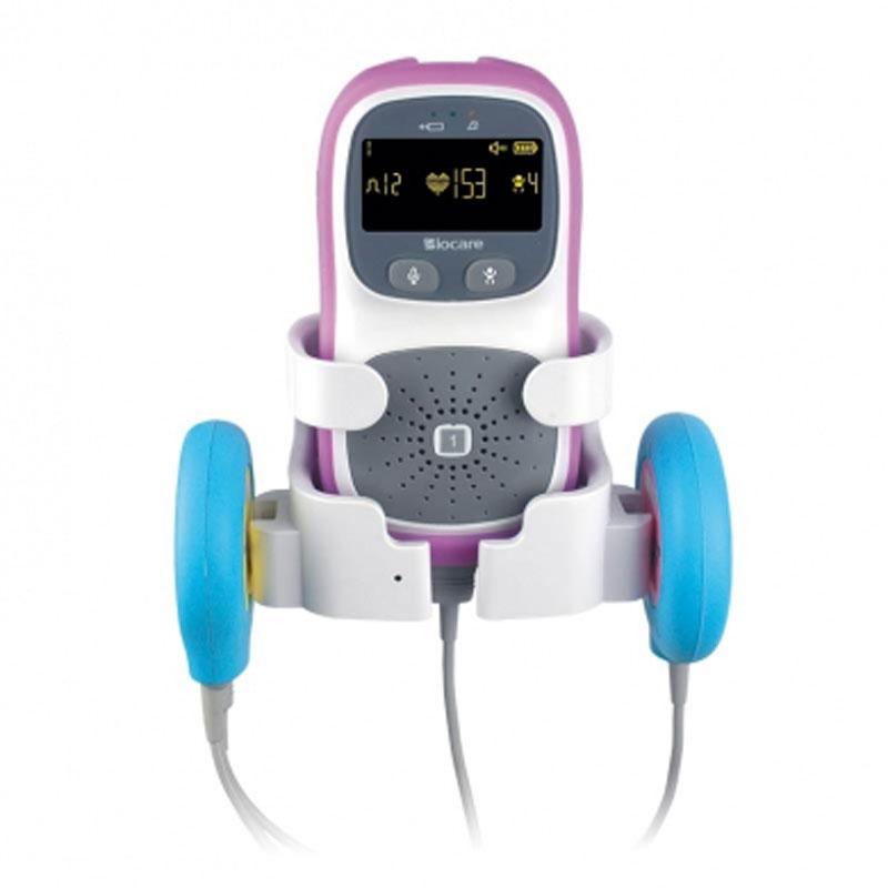 Monitor fetale portatile Biocare SMART FM con guscio protettivo