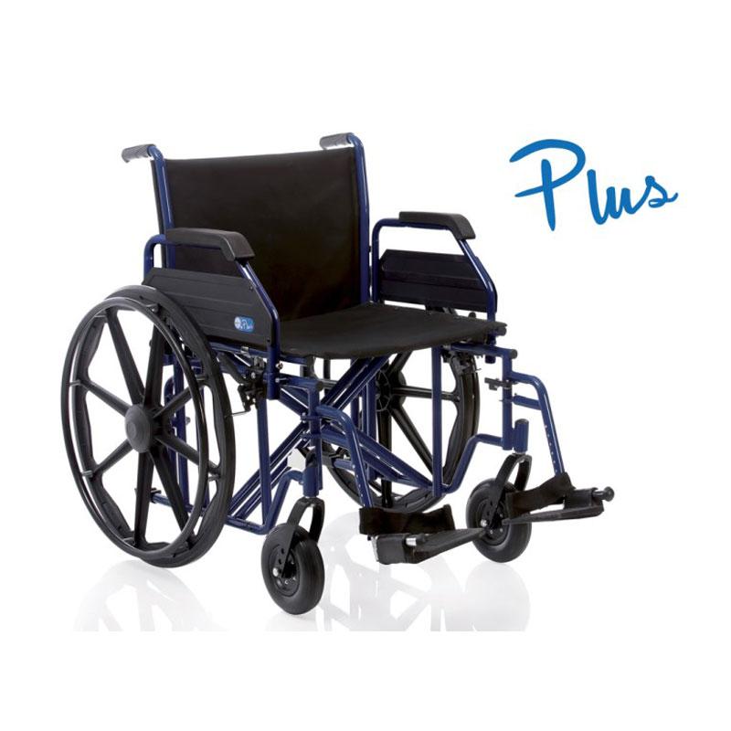 Carrozzina Pieghevole ad Autospinta  - Serie Plus