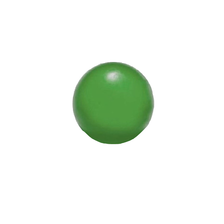Pallina riabilitativa forte verde