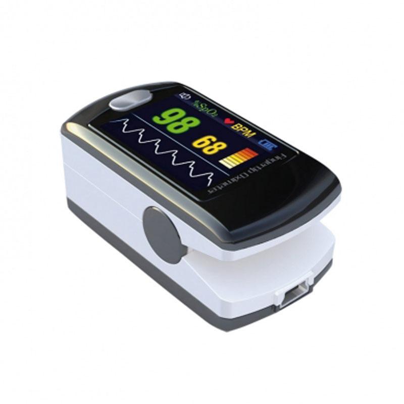 Pulsossimetro portatile da dito per uso professionale