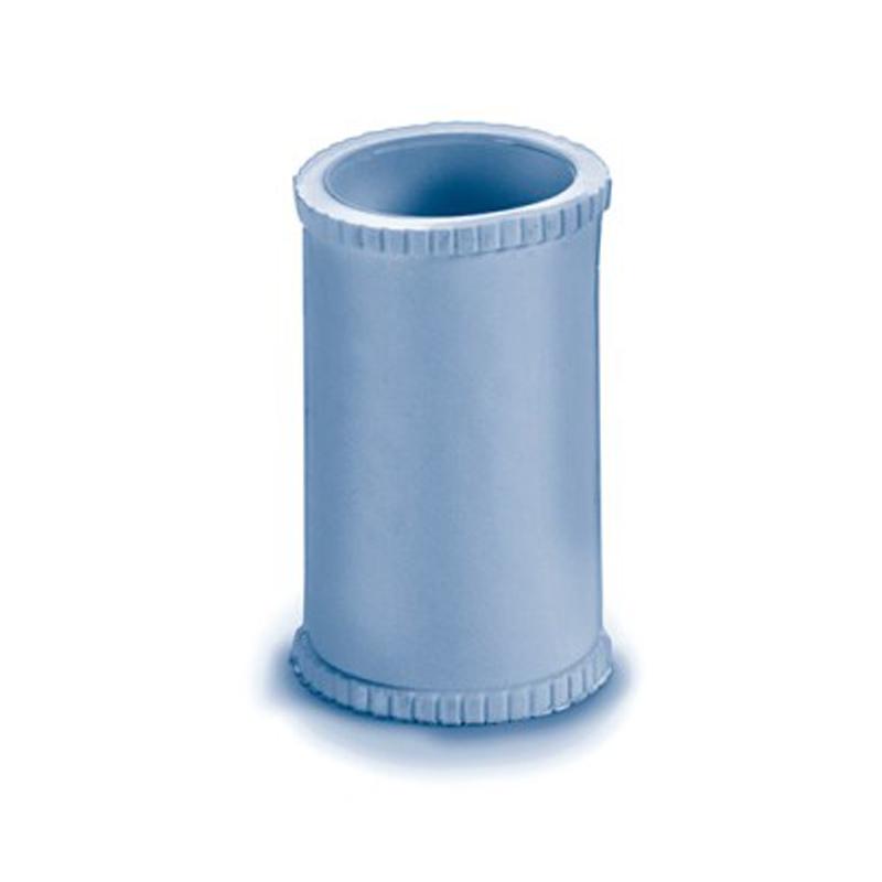 Raccordo in PVC blu per ampolle  - Ricambi per aerosol professionale