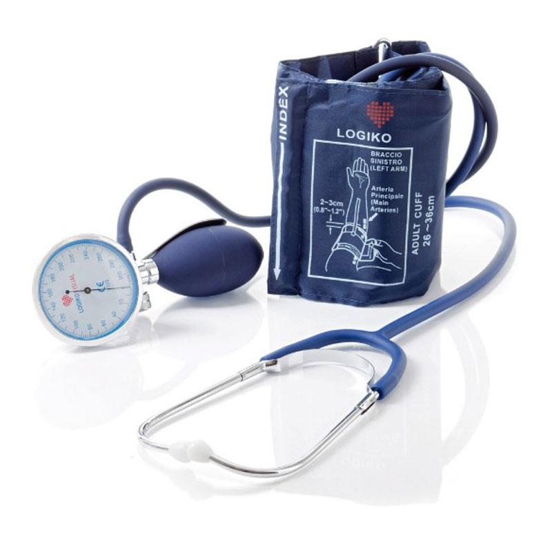 Sfigmomanometro ad Aneroide Palmare Large con Fonendoscopio