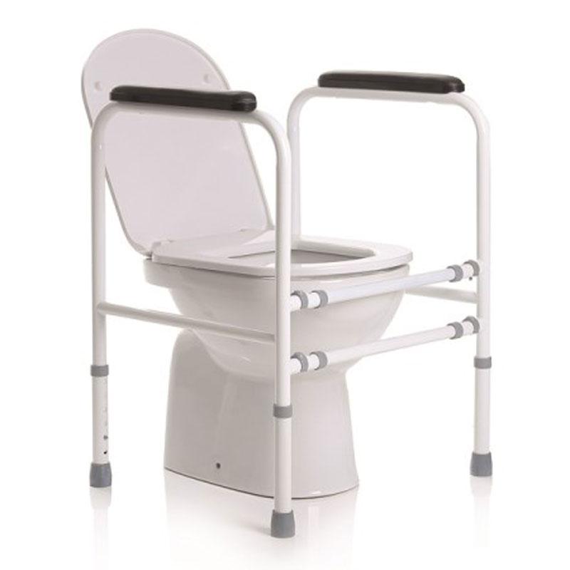 Sostegno per wc regolabile in altezza - acciaio verniciato