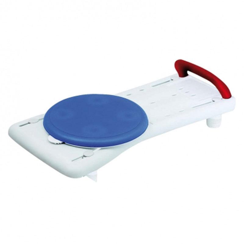 Tavola da vasca con maniglia e disco rotante