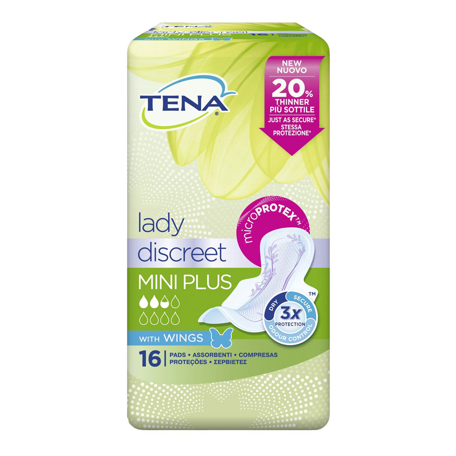 TENA Lady Discreet Mini Plus (16 pz)