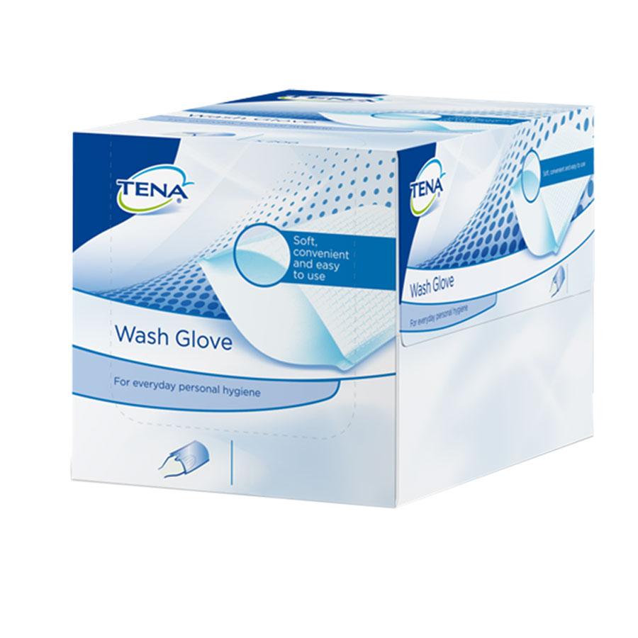 Tena Wash Glove - Guanti (50 pz)